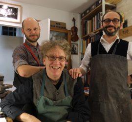 Alexandre Aumont (left), Matt Wehling, and Arthur DuBroca. Photo by Emmanuel Carlier.