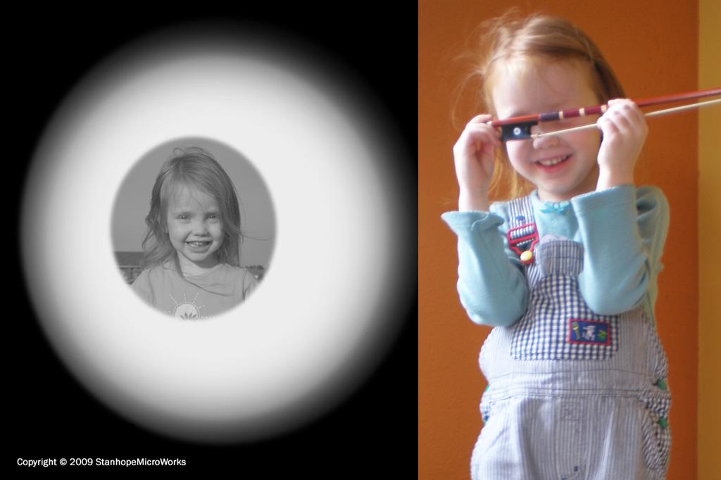 microlens portrait
