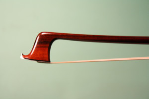 Silver mounted viola bow, 2014